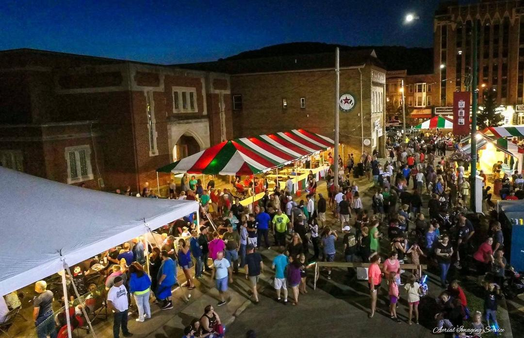 Area Festivals including Official Festa Italiana, Bradford, PA<br /><br />